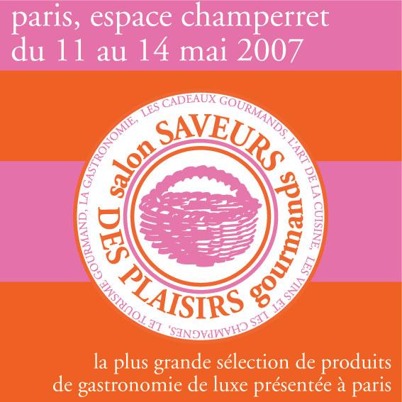 Le prochain salon saveurs agenda for Salon des saveurs paris