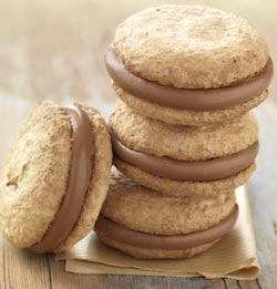 Macaron Chocolat Caramel