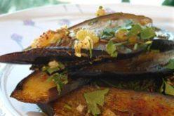 Recette VeGe'Tables : aubergines orientales et hoummous au cumin