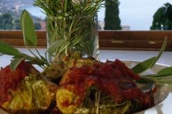 Recette VeGe'Tables : Farcis de chou vert au parmesan