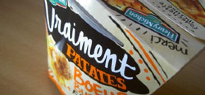 Box «Vraiment patates» de Fleury Michon, vraiment bon?