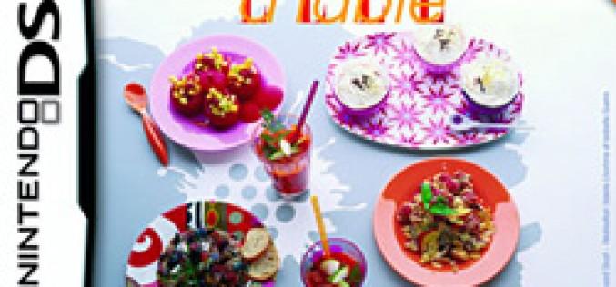«Elle à table», 1000 recettes de cuisine pour Nintendo DS