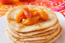 Recette chandeleur : Pancakes confiture Abricot et poêlées d'abricots