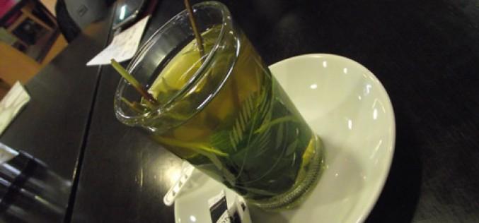 Les petits plaisirs : thé à la menthe
