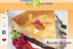 Nestlé lance son application iPhone «Croquons la vie»