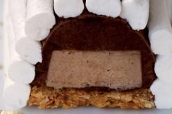 Recette : Buchette meringuée, crème de châtaigne et mousse au chocolat noir
