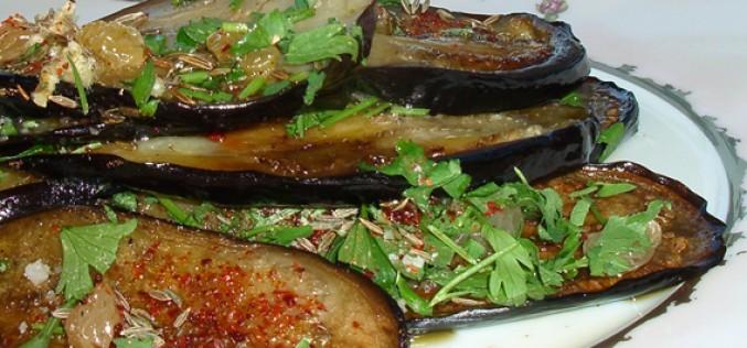 Recette : aubergines orientale et houmous au cumin [VeGe'Tables]