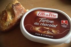 Elle & Vire – tartine au chocolat