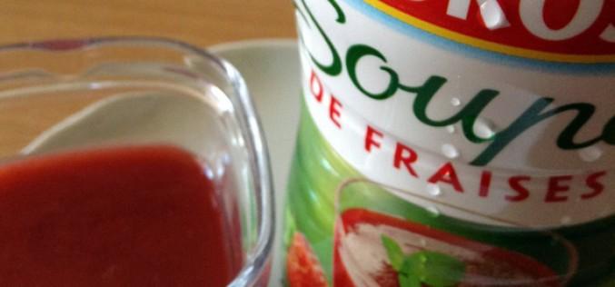 En bref : soupe de fraises Andros