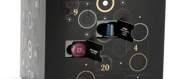 Calendrier de l'avent Nespresso : le café à la fête