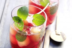 Cocktail : Punch froid au melon, à la menthe et aux US Cranberries