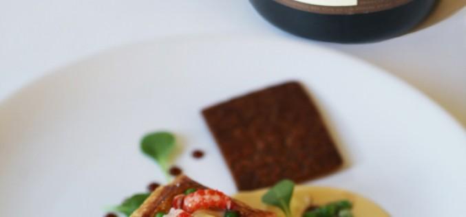 Recette : Vol au vent d'écrevisses, beurre blanc au pamplemousse, caramel de sauce soja