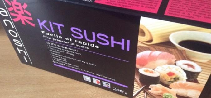 Test du kit maki-sushi Tanoshi