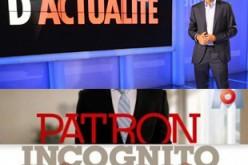 A la TV : En quête d'actualité vs Patron incognito