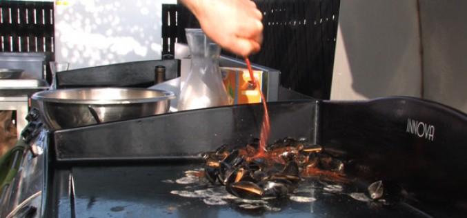 Idée recette plancha : moules à la plancha (+vidéo)