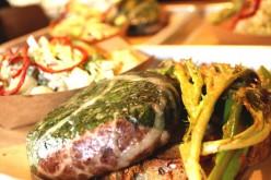 Un burger à la viande de T-Rex…