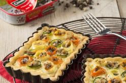 Recette : tartelette de fleur de légumes et sardines aux 5 baies