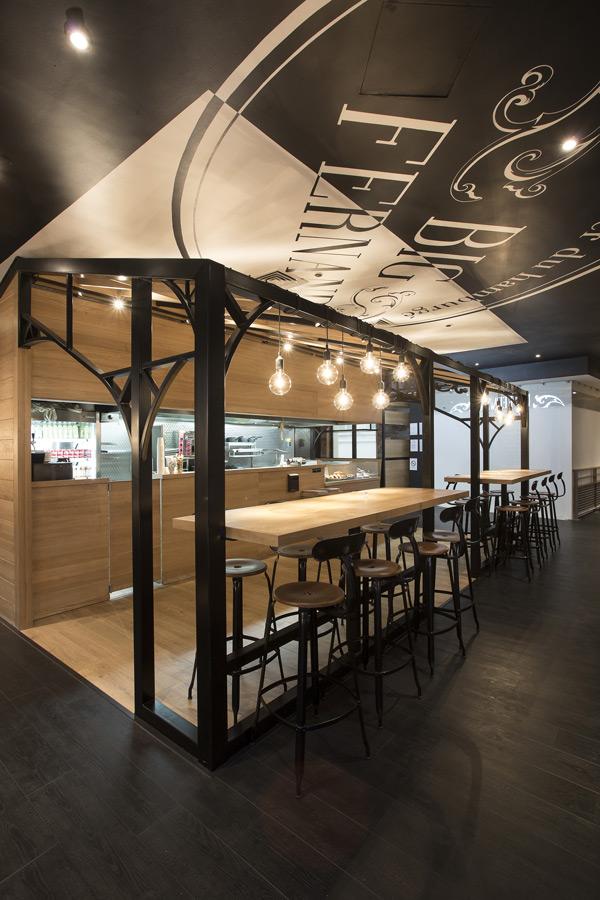 les galeries lafayette accueillent big fernand actualit s culinaires. Black Bedroom Furniture Sets. Home Design Ideas