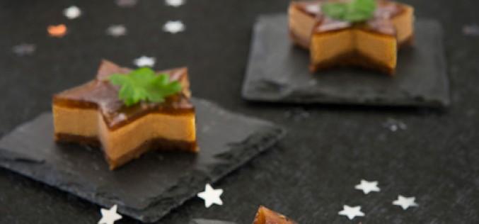 Recette : apéritifs Cheesecakes au foie gras et confiture de figues