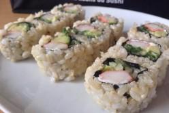 Sushis et makis au riz complet