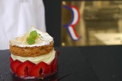 Recette vidéo : tarte aux fraises meringuée et sablé breton