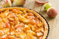 Recette de la tarte aux pommes et sa gelée de Coings