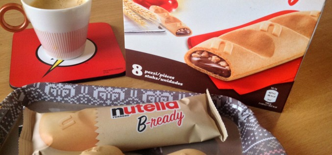 Nutella B-Ready : la tartine à emporter