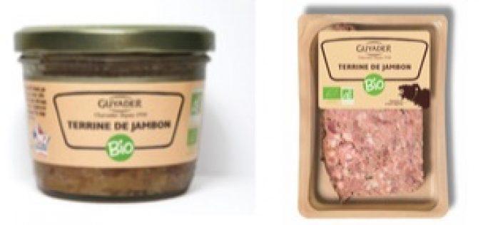 Guyader propose sa terrine de jambon bio