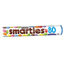 smarties tube format ann es 80 actualit s culinaires. Black Bedroom Furniture Sets. Home Design Ideas