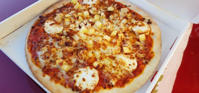 Distributeur de pizza automatique : test vidéo