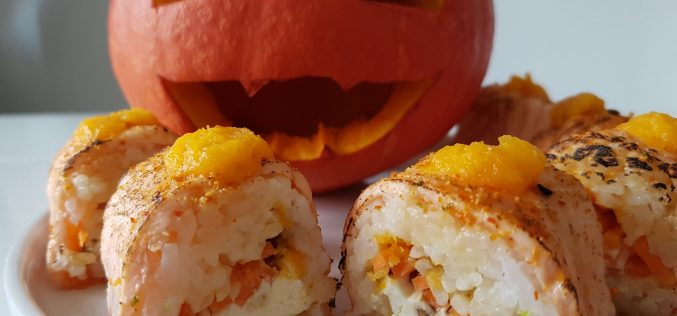 Test : maki d'Halloween chez Planet Sushi (avec video)