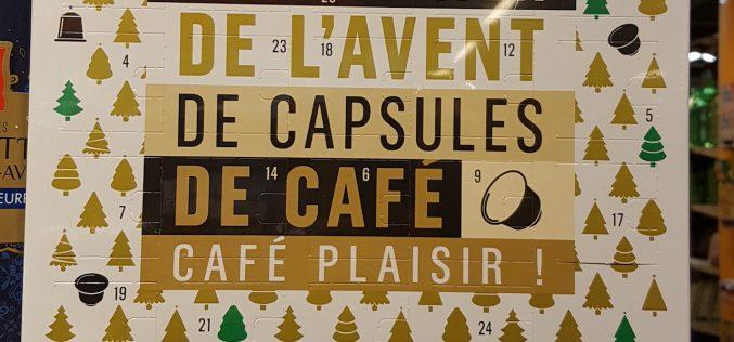 Café «Nespresso» : calendrier de l'avent (même après)