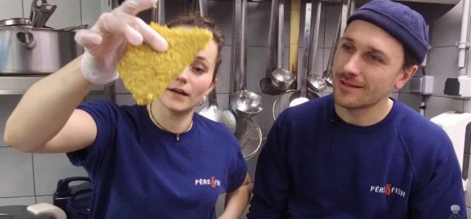 «Tuto panure» en vidéo avec l'équipe de Père & Fish