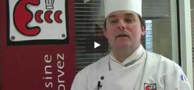 Cours de cuisine – Chef Corvez