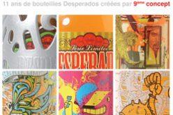 Exposition de bouteilles Desperados