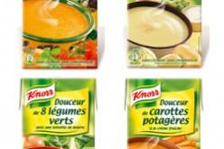 Nouvelles soupes Knorr