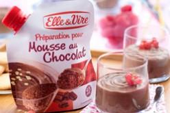 Mousse au chocolat, la préparation par Elle & Vire