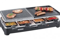 Raclette, grill, pierrade: essai appareil multifonctions Severin RG 2341
