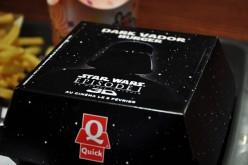 Test du Dark Vador Burger : l'étoile noire éphémère de Quick