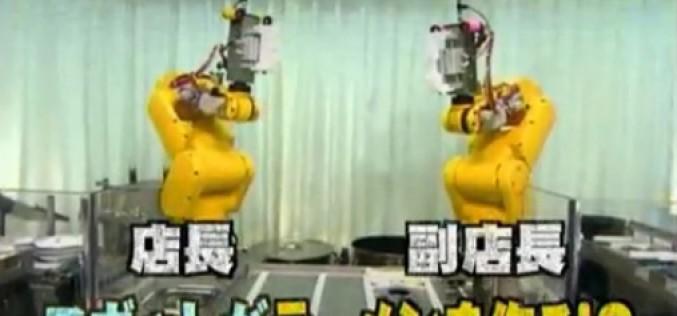 iRobot : sushis et ramens au programme (informatique)