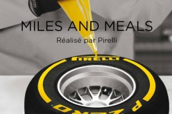 "Livre  : ""Miles & Meals"", Pirelli se met à table"