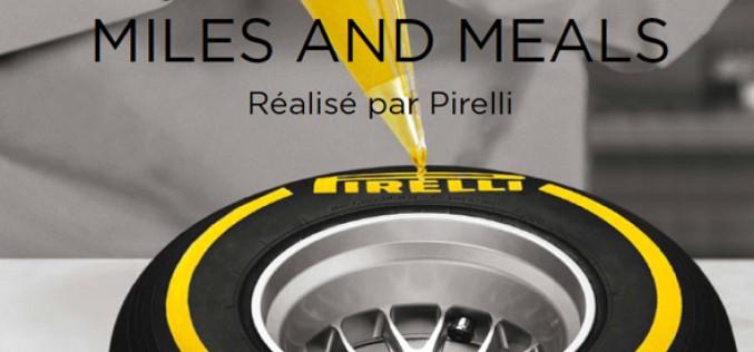 """Livre  : """"Miles & Meals"""", Pirelli se met à table"""