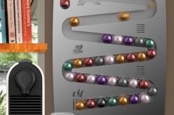 Support pour capsules Nespresso : la carte de l'originalité