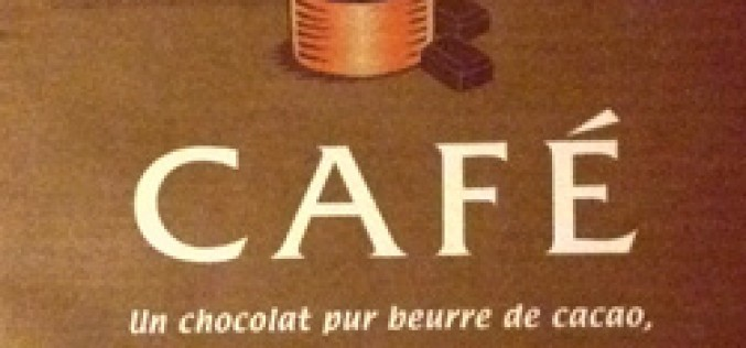 Nestlé dessert : chocolat pâtissier au café