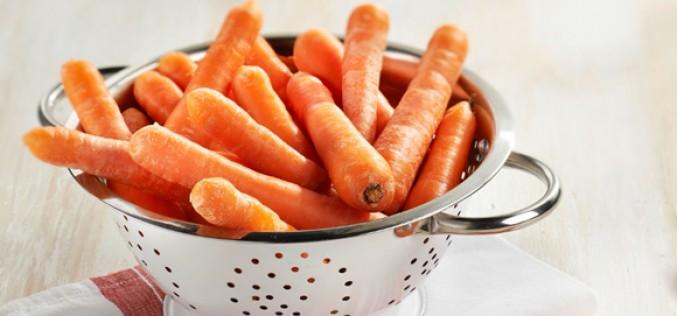 """Filière Carrefour """"Origine et qualité"""", et recette des flans de carotte"""