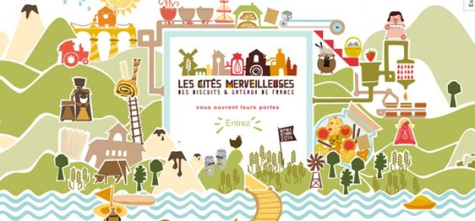 Les cités merveilleuses des biscuits et gâteaux de France 2014
