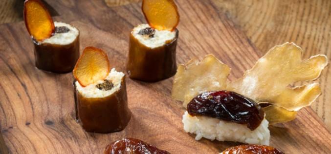 Sushi et maki aux pruneaux d'Agen (recettes de Michel Trama)