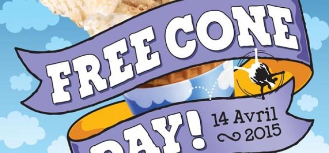 "Il est l'heure du ""Free cone day"" 2015"