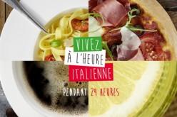 """Des promotions pour """"vivre à l'italienne pendant 24h"""""""