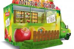 Camion événementiel Andros : au tour de Paris